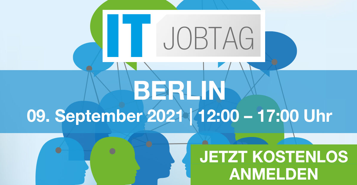 Logo der Messe IT Jobtag, die am 09. September stattfindet.