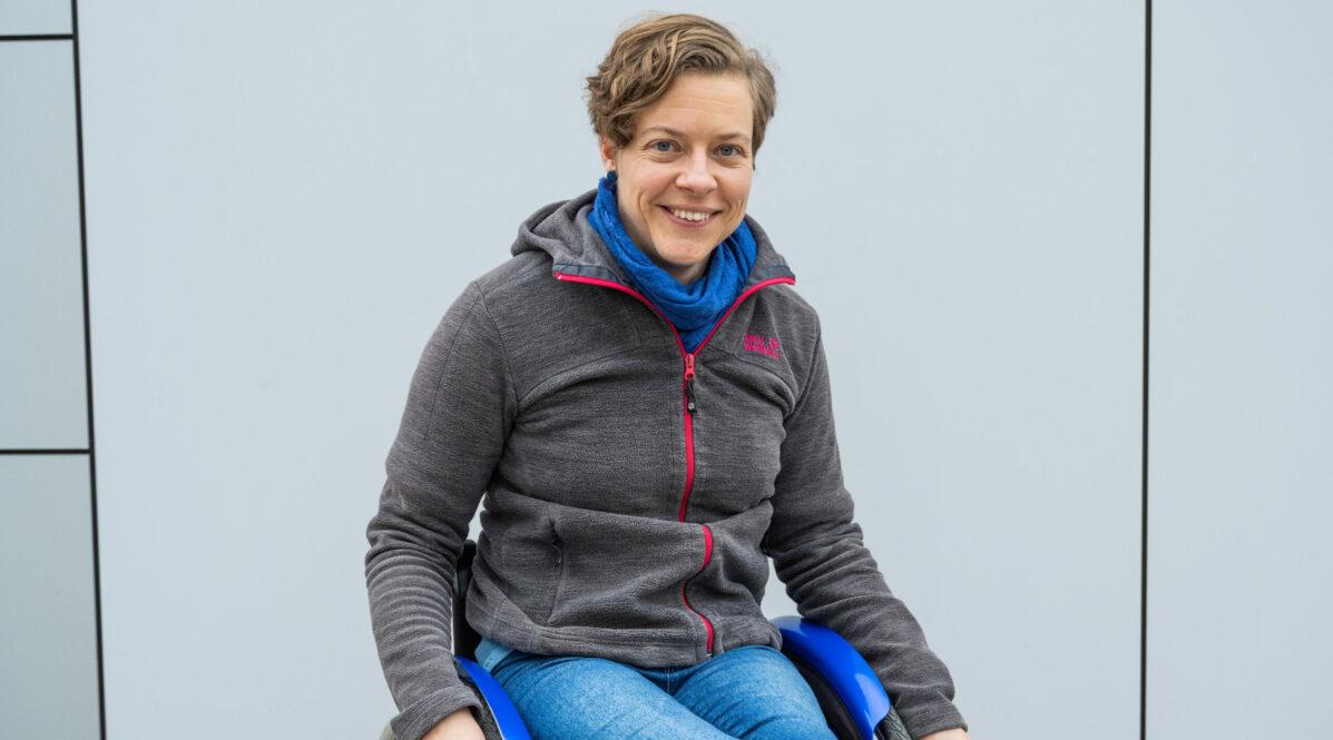 Portrait-Foto von Hanna Matthies, Beauftragte für mobilitätseingeschränkte Fahrgäste bei der BVG. Bild zur Mitteilung